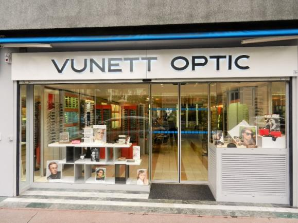 Vunett Optic, magasin de lunettes à Nice